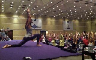9e yoga conference met Briggite Longueville