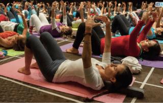 10e yoga conference met Brigitte Longueville