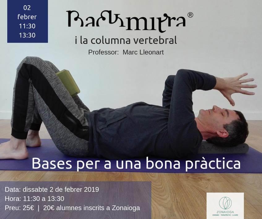 taller backmitra con marc lleonart- 2-2-2019