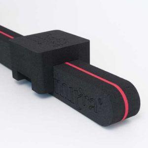 BackMitra Negro-Rojo + Almohada Negro